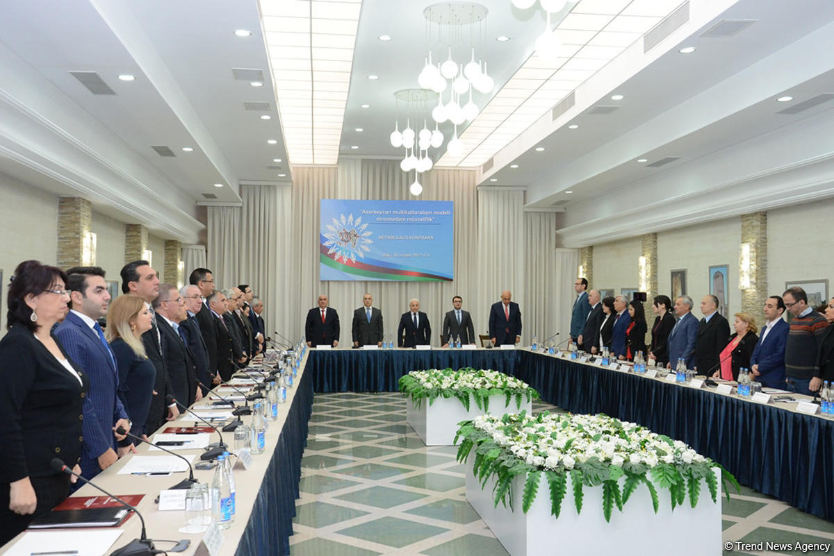 Baku hosts int'l conference on Azerbaijan's model of multiculturalism  (PHOTO)