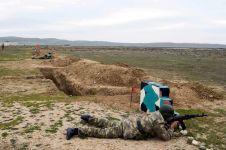 Ən yaxşı tabor komandirləri adı uğrunda yarışlar keçirilib (FOTO) - Gallery Thumbnail