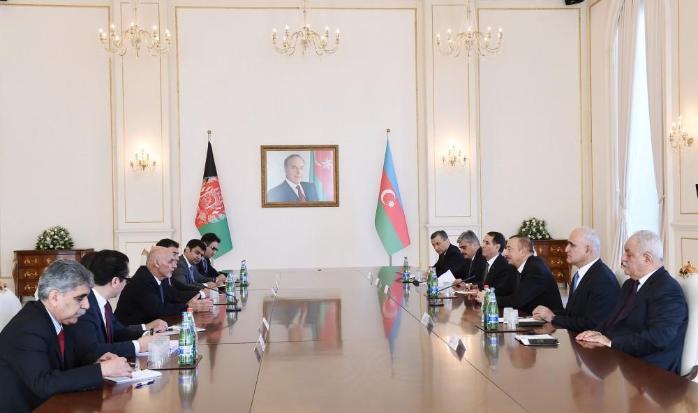 Ashraf Ghani: Azerbaijan-Afghanistan relations have good future