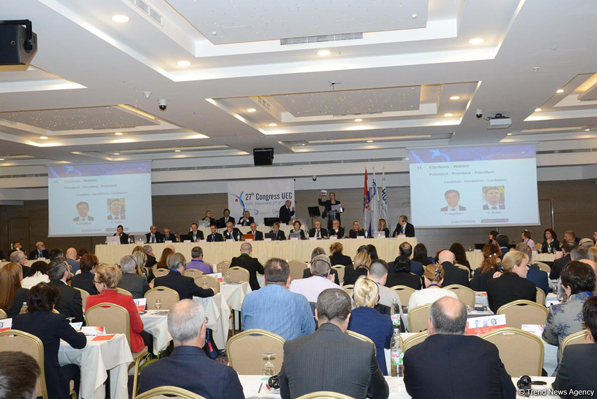 AGF Sec. Gen. Farid Gayibov elected as UEG President (PHOTO) - Gallery Image