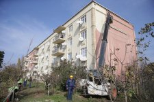Building for disabled in Azerbaijan on repair upon First VP's instruction (PHOTO) - Gallery Thumbnail