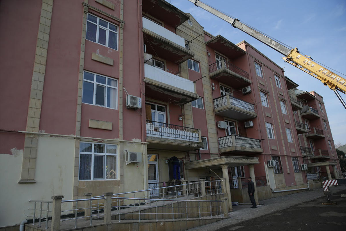 Building for disabled in Azerbaijan on repair upon First VP's instruction (PHOTO) - Gallery Image