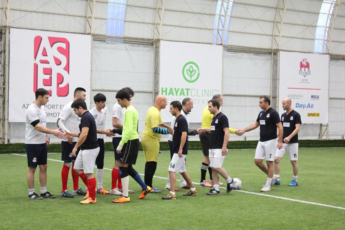 Интересные моменты четвертьфинала AZFAR Business League (ФОТО) - Gallery Image