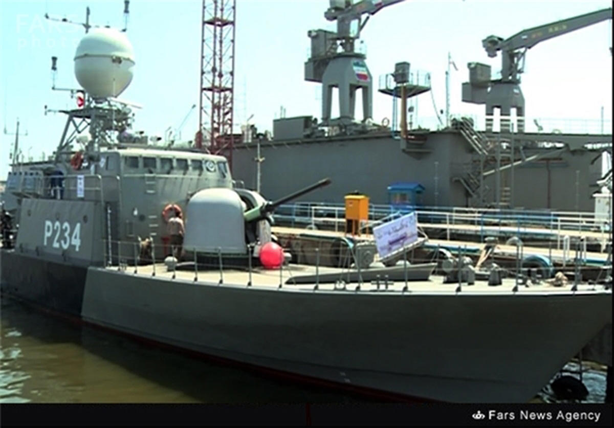 Home-made missile-launching warship joins Iran Navy in Caspian Sea (PHOTO) - Gallery Image