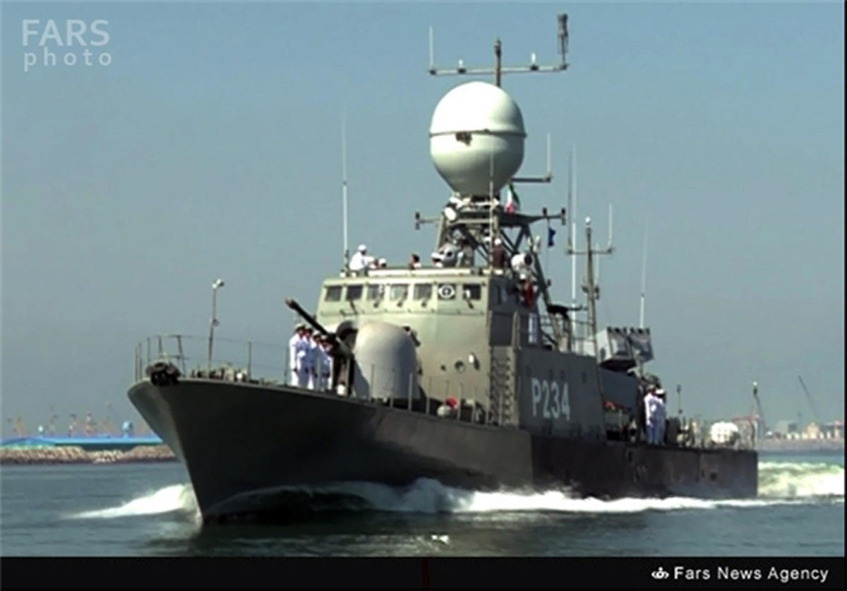 Home-made missile-launching warship joins Iran Navy in Caspian Sea (PHOTO)