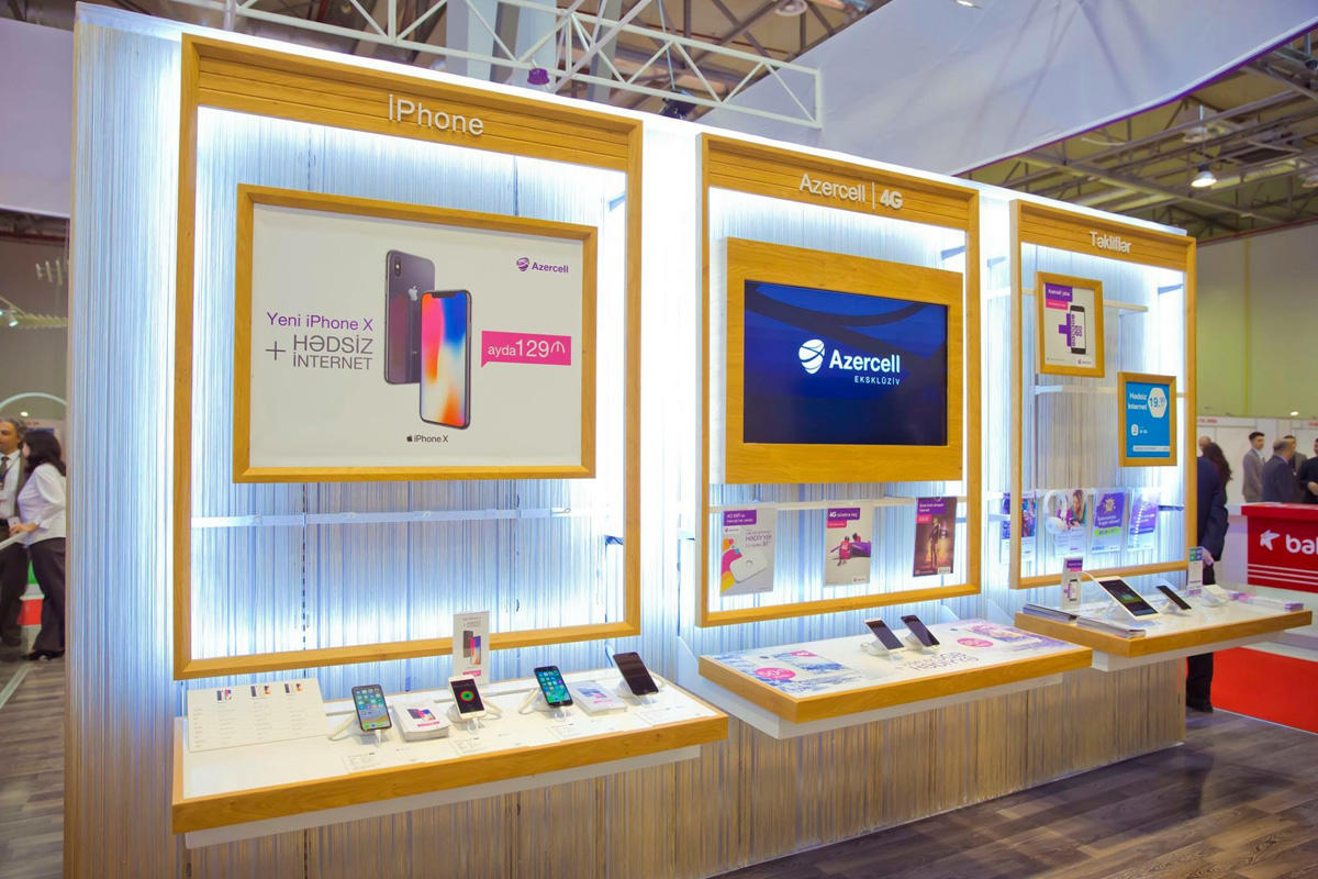Exclusive offers from Azercell at Bakutel 2017 exhibition (PHOTO) - Gallery Image