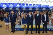 Gimnastikanın üç növü üzrə Azərbaycan birinciliyi və Bakı çempionatına start verilib (FOTO) - Gallery Thumbnail