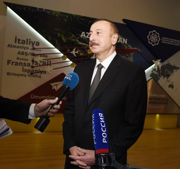 President Aliyev: Azerbaijan expanding partnership with Russia on technology issues