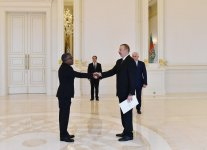 President Aliyev receives credentials of incoming Sudanese ambassador (PHOTO) - Gallery Thumbnail