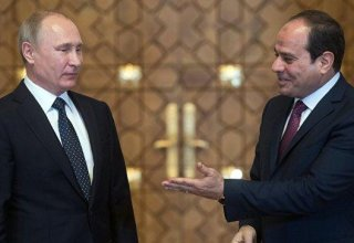 Putin to hold informal talks with Egyptian leader