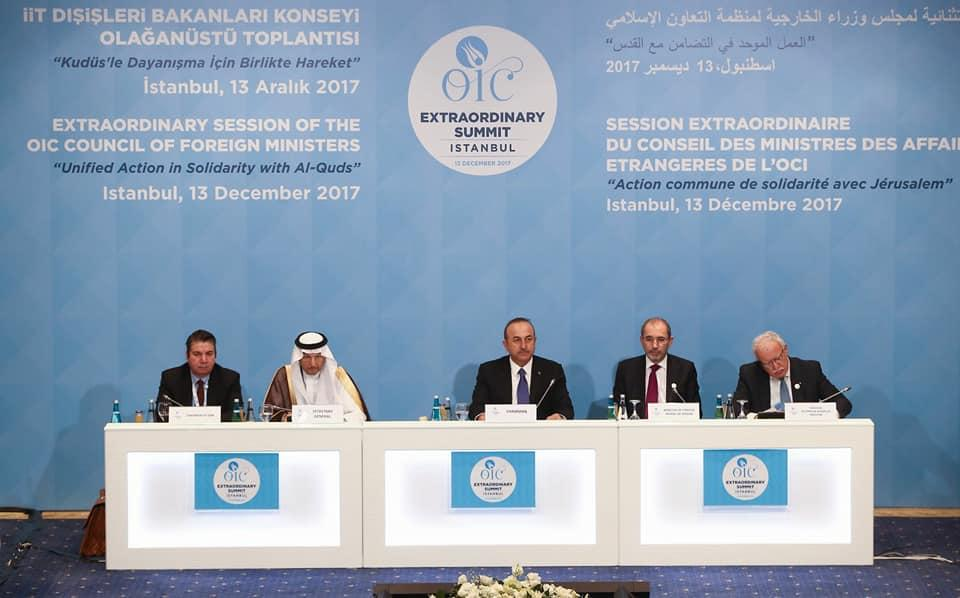 OIC FMs convene in Istanbul to discuss Jerusalem issue (PHOTO)