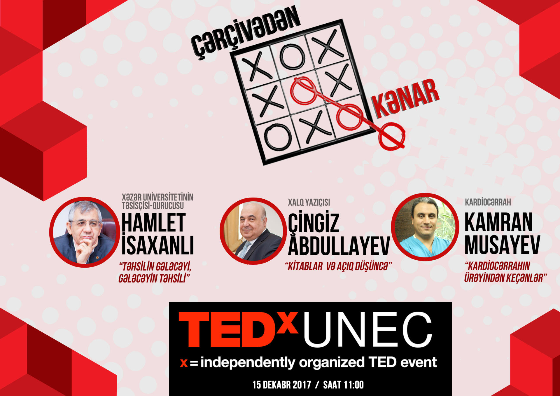 "TEDxUNEC conference: ""Outside Frame"""