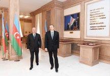 Президент Ильхам Алиев принял участие в открытии Музея флага в Сумгайыте (ФОТО) - Gallery Thumbnail