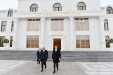 Prezident İlham Əliyev YAP Sumqayıt şəhər təşkilatının inzibati binasının açılışında iştirak edib (FOTO)(YENİLƏNİB) - Gallery Thumbnail