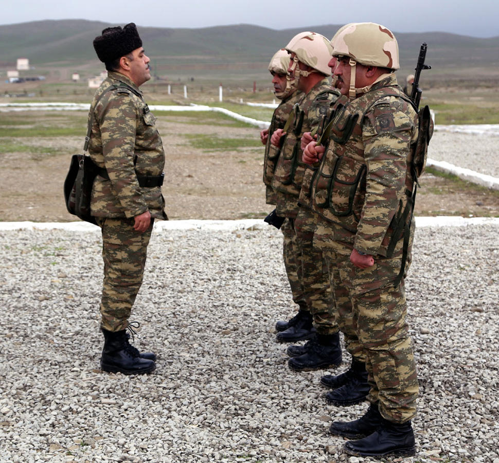 Azerbaijani Armed Forces' trainings underway (PHOTO) - Gallery Image