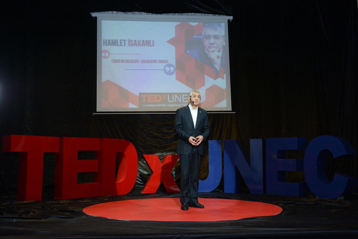 Dövlət İqtisad Universitetində TEDxUNEC konfransı keçirilib (FOTO)