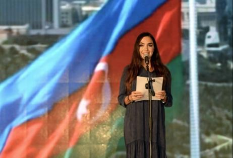 Heydar Aliyev Foundation VP Leyla Aliyeva attends poetry day in Gabala (PHOTO)