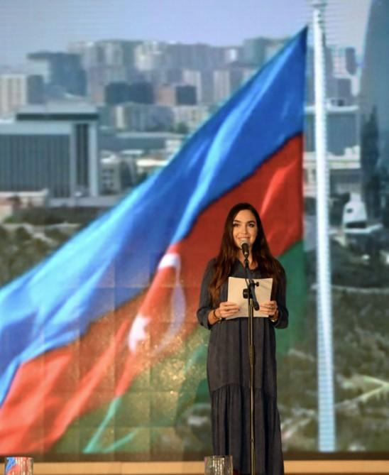 Heydar Aliyev Foundation VP Leyla Aliyeva attends poetry day in Gabala (PHOTO) - Gallery Image