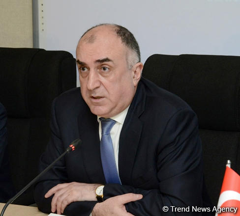 Azerbaijan's FM meets with OSCE MG co-chairs