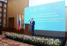 Heydar Aliyev Foundation VP attends opening ceremony of Azerbaijan-Russia Youth Forum (PHOTO) - Gallery Thumbnail