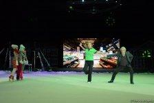 """Впервые фильм """"Один дома"""" представлен в Баку потрясающим новогодним гимнастическим Anchorшоу (ФОТО) - Gallery Thumbnail"""
