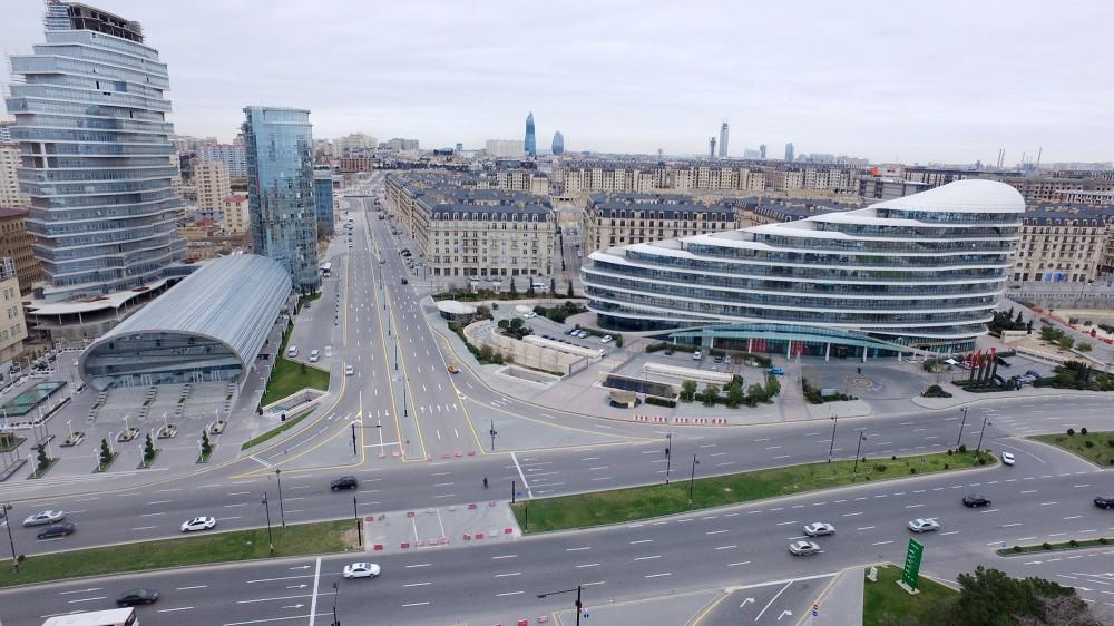 Construction of large residential complex in White City district continues in Baku