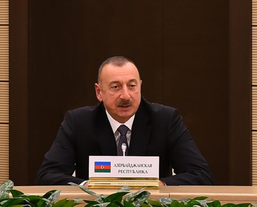 President Ilham Aliyev: Azerbaijan-Russia relations reached level of strategic partnership