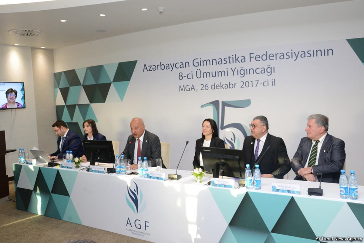 Baku hosts General Assembly of Azerbaijan Gymnastics Federation on its 15th anniversary (PHOTO)