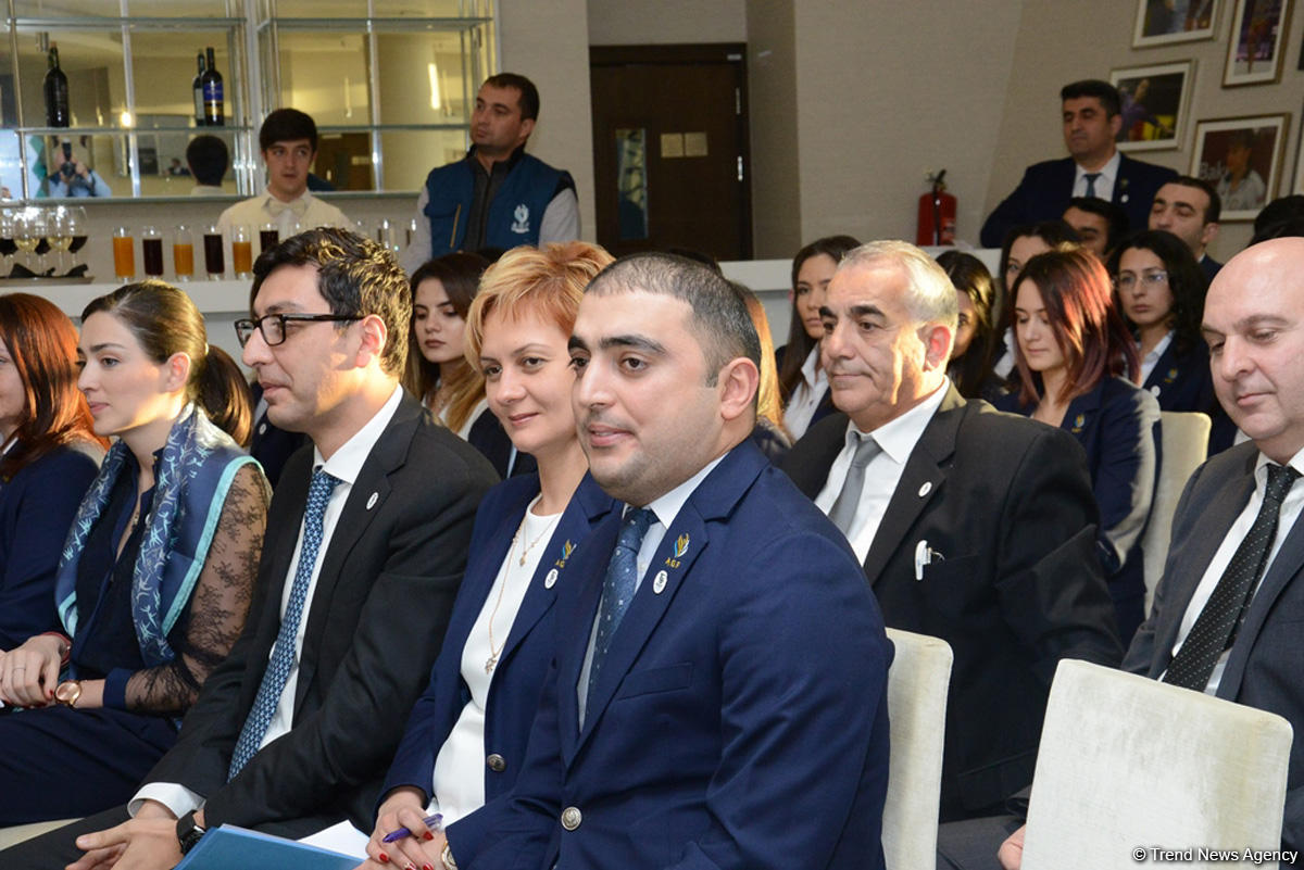 Baku hosts General Assembly of Azerbaijan Gymnastics Federation on its 15th anniversary (PHOTO) - Gallery Image