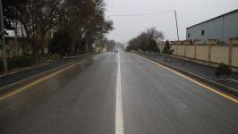 Suraxanıda 2.7 km avtomobil yolu yenidən istifadəyə verilib (FOTO/VİDEO) - Gallery Thumbnail