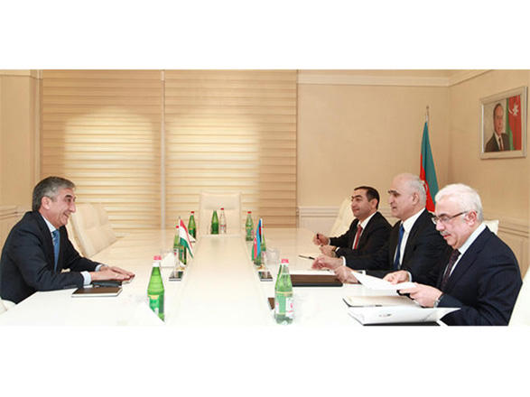 Azerbaijan, Tajikistan mull expansion of economic relations