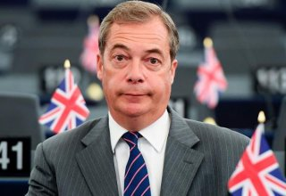 Brexit Party leader Farage says PM May misjudged mood of Britain