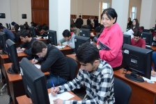 "Azerbaijani MP: ""Written exams will play important role in training of literate specialists"" (PHOTO) - Gallery Thumbnail"