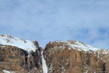 Qubada alpinistlərin axtarışı üzrə əməliyyat tədbirlərini əks etdirən - FOTO/VİDEO - Gallery Thumbnail