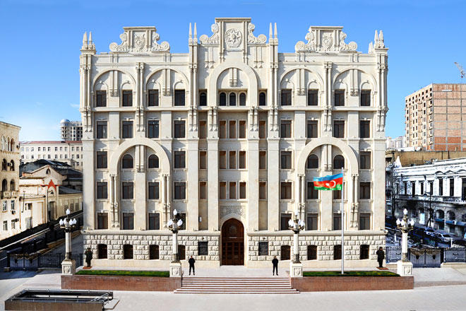 Azerbaijani interior ministry issues statement on curfew across country