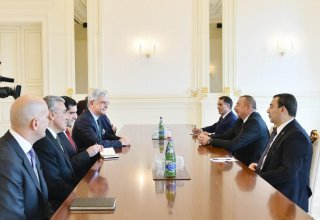 Ilham Aliyev: Azerbaijan, Turkey to continue large projects in 2018 (PHOTO)