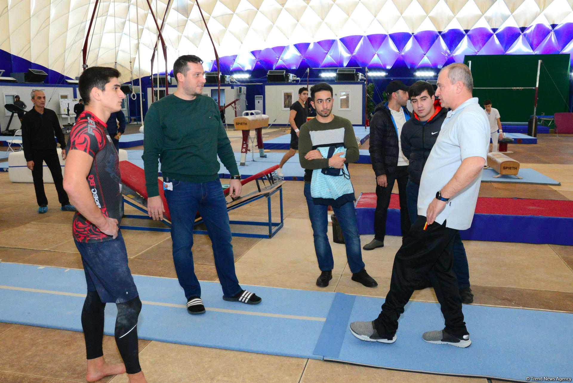 Polish coach: Young Azerbaijani gymnasts have great prospect for future (PHOTO) - Gallery Image