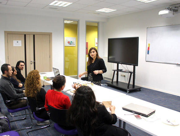 Successful presentation and PR for startups training by Barama