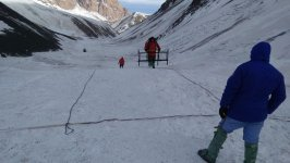 ANAMA specialists searching for missing Azerbaijani mountaineers (PHOTO) - Gallery Thumbnail