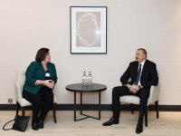 President Ilham Aliyev met with member of Mastercard Management Committee - Gallery Thumbnail