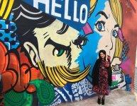 Стены бакинской галереи стали холстом для художников Швейцарии и Великобритании (ФОТО) - Gallery Thumbnail