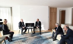 President Aliyev meets with Statoil CEO (PHOTO) - Gallery Thumbnail