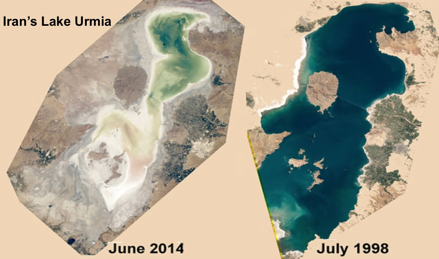 Iran seeks foreign investment to save Lake Urmia