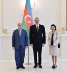 President Aliyev receives credentials of incoming ambassadors (PHOTO) - Gallery Thumbnail