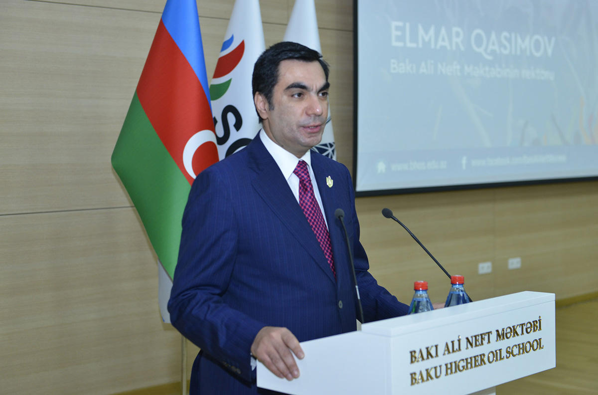 Youth Day celebrated at Baku Higher Oil School (PHOTO)