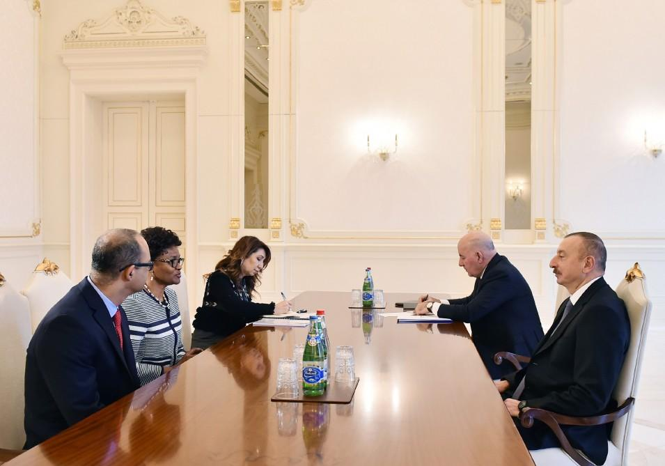 President Aliyev receives WB regional director for South Caucasus (PHOTO) - Gallery Image