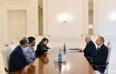 President Aliyev receives WB regional director for South Caucasus (PHOTO) - Gallery Thumbnail