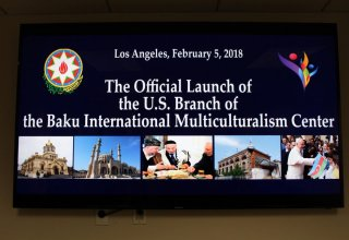 U.S. Branch of Baku Int'l Multiculturalism Centre opened in Los Angeles (PHOTO)