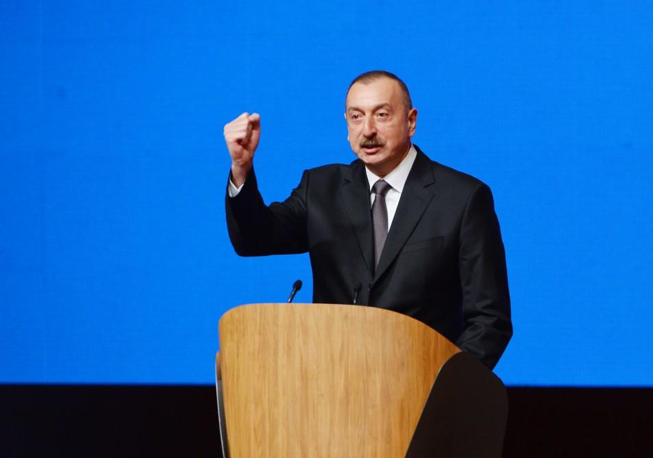 Ilham Aliyev: New Azerbaijan Party victorious in all elections