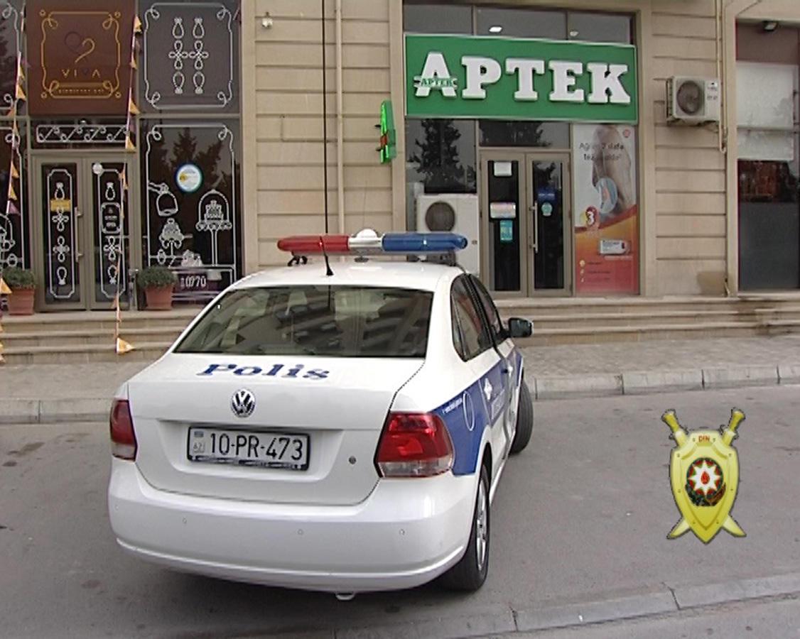 Bakıda silsilə oğurluqlar törədən dəstə yaxalandı (FOTO) - Gallery Image